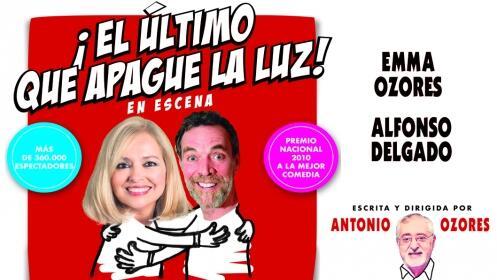 Entradas EL ÚLTIMO QUE APAGUE LA LUZ. Pontevedra. Sábado 26 de mayo ¡Oferta limitada!