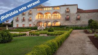 Escapada termal de lujo y relax en la Ribeira Sacra: Alojamiento, desayuno, spa...