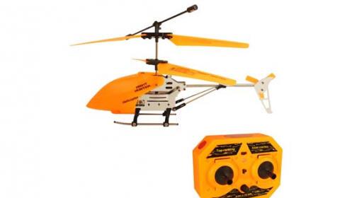 Helicóptero teledirigido Naranja