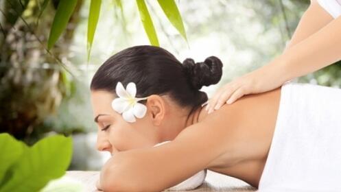 Masaje Relajante con aceites esenciales