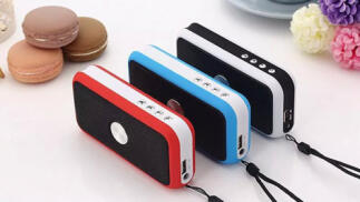 Altavoz Bluetooth 4 en 1