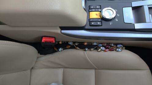 Cubre huecos para asientos del coche