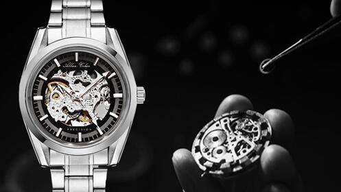 Reloj de Precisión Automático de acero
