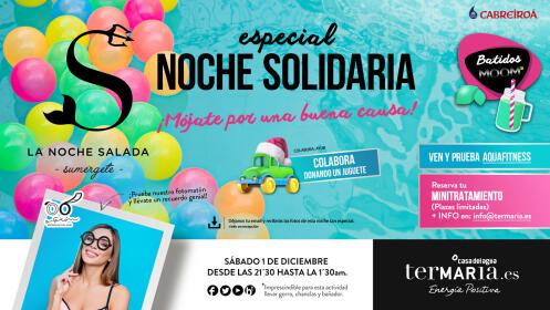 Entradas Fiesta Salada Noche Solidaria Termaria 1 Diciembre