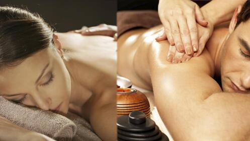 1 o 2 masajes relajantes hidratantes o alivia tensiones musculares