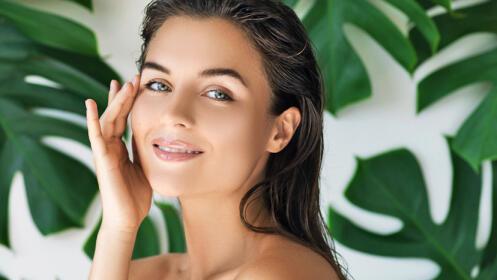 Limpieza facial con mascarilla nutritiva