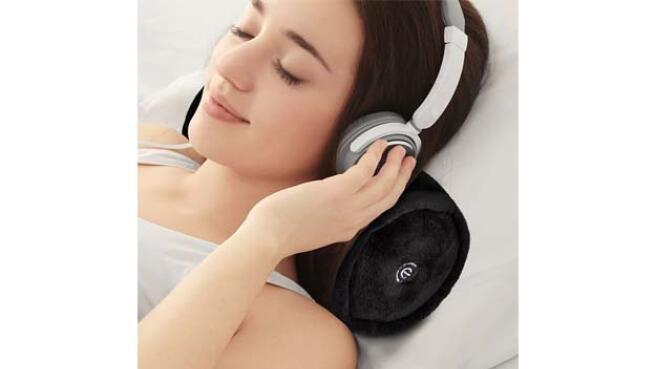 Almohada con masajeador vibratorio