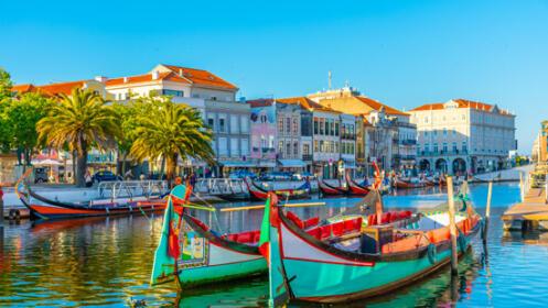 """2 noches en la """"Venecia portuguesa"""" con paseo en barco moliceiro, alojado en un 4*"""