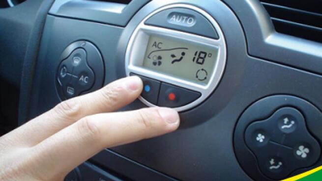 Carga de aire acondicionado con desinfección de ozono y revisión