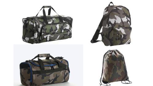 Mochilas y bolsas de Deporte Multi Bolsillos de Camuflaje