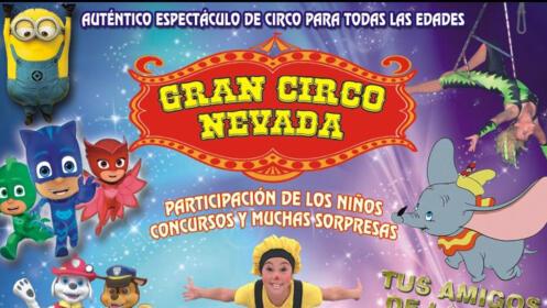 Entradas niños y adultos Circo Nevada en A Estrada