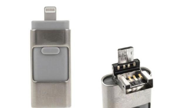 Pendrive i-Flash 16GB o 32GB para iOS y Android