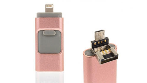 Pendrive i-Flash 16GB o 32GB para iOS y Android