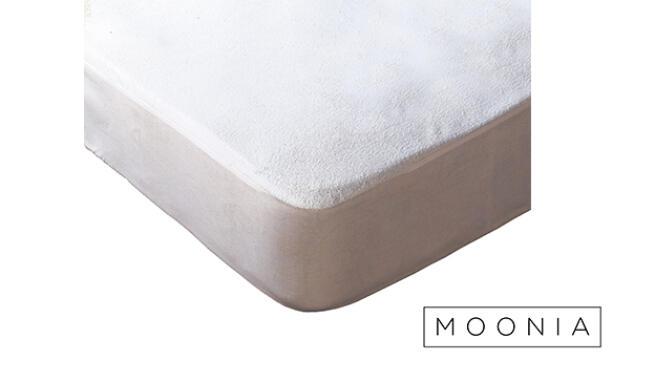 Protector de colchón de algodón de rizo